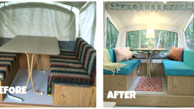 Photo of 7 Cheap and Easy Ways to Remodel Your Pop Up Camper